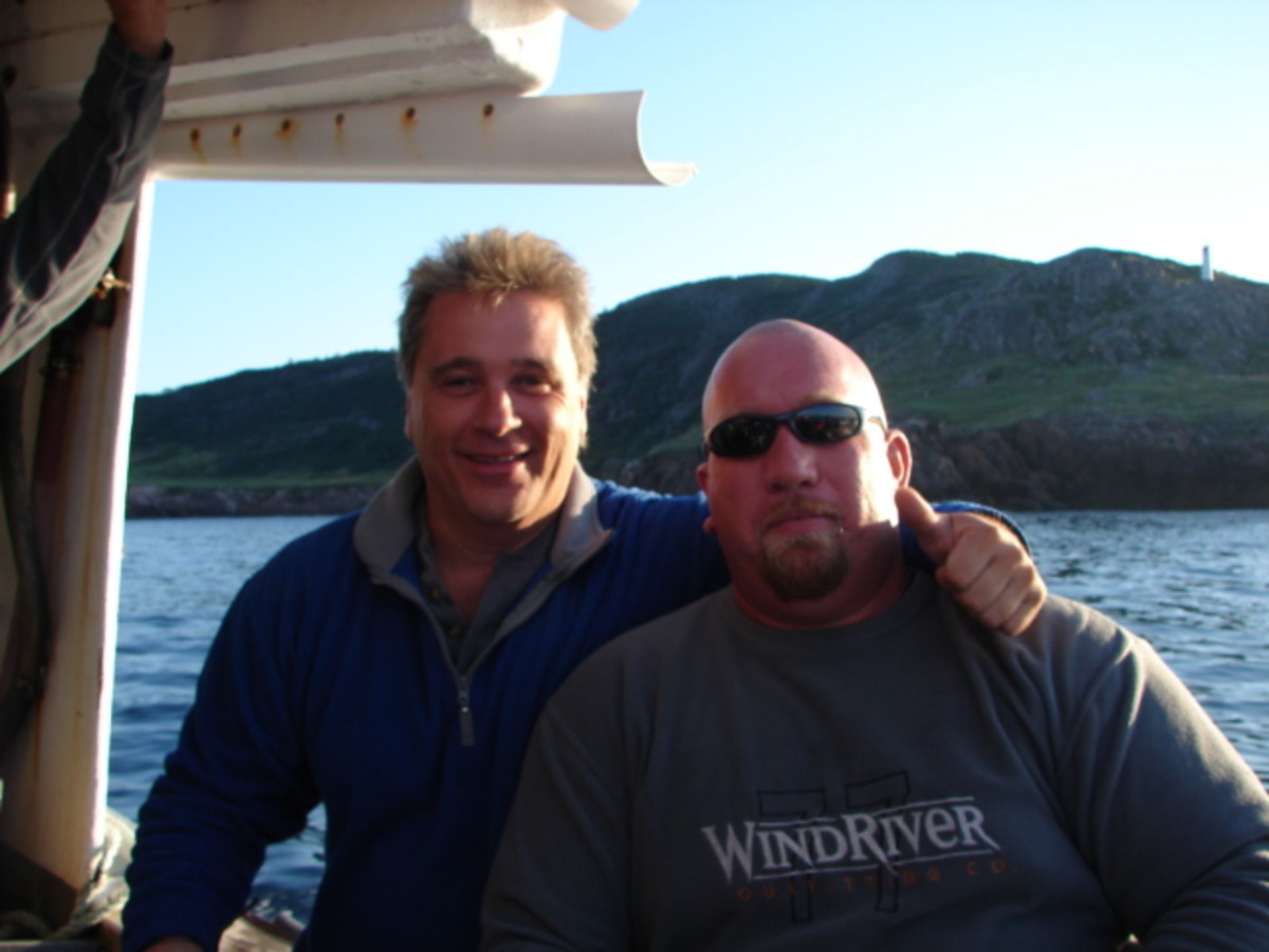 Scuba Diving Off St. Paul's Island: Dedicated to the Memory of Mike