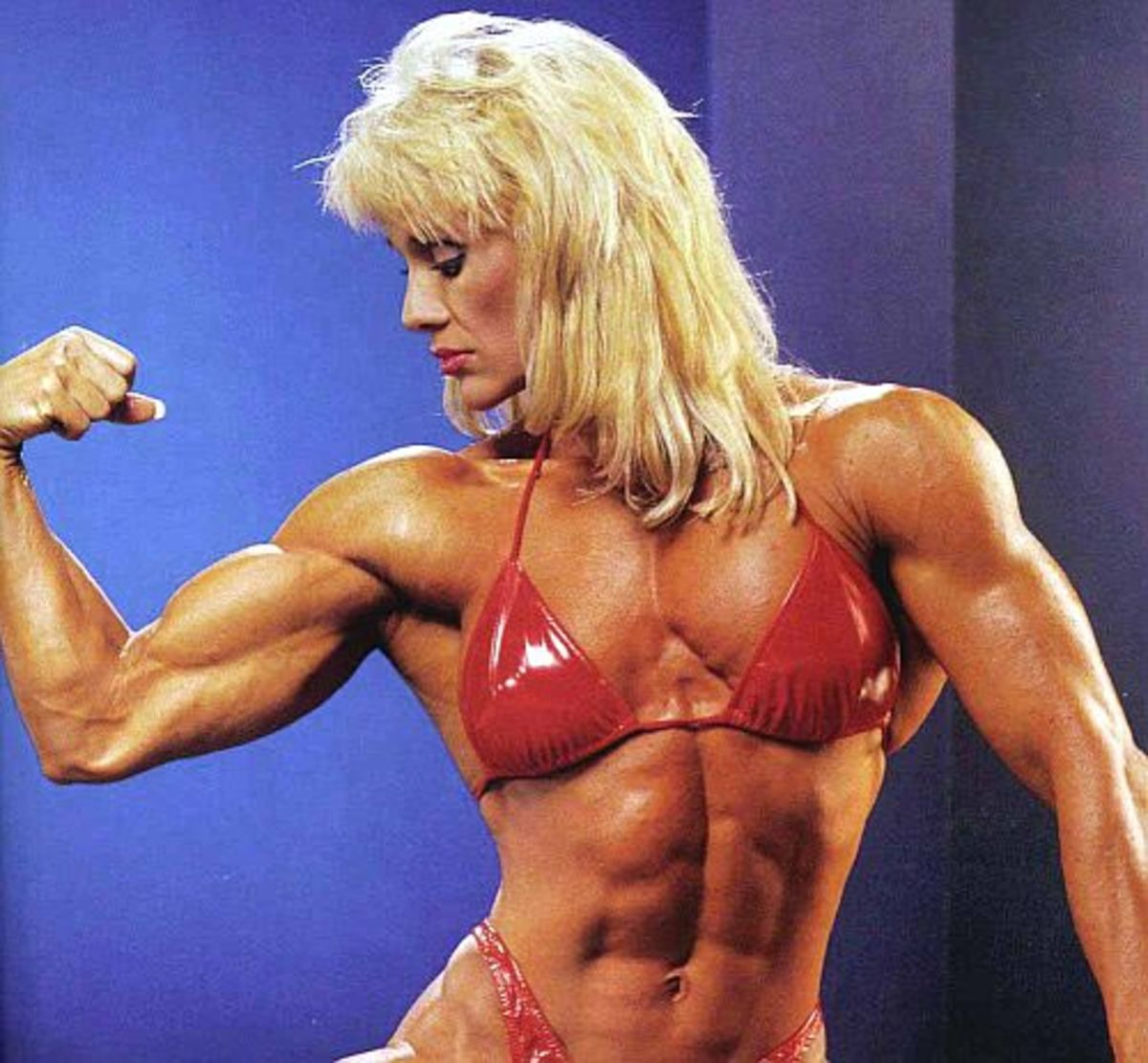 Legendary female bodybuilder Cory Everson