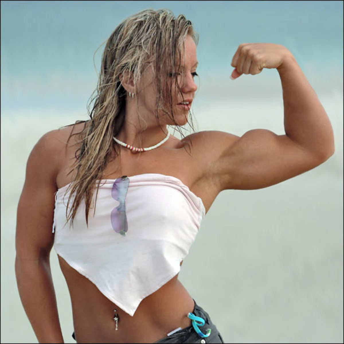 Female bodybuilder Cindy Phillips