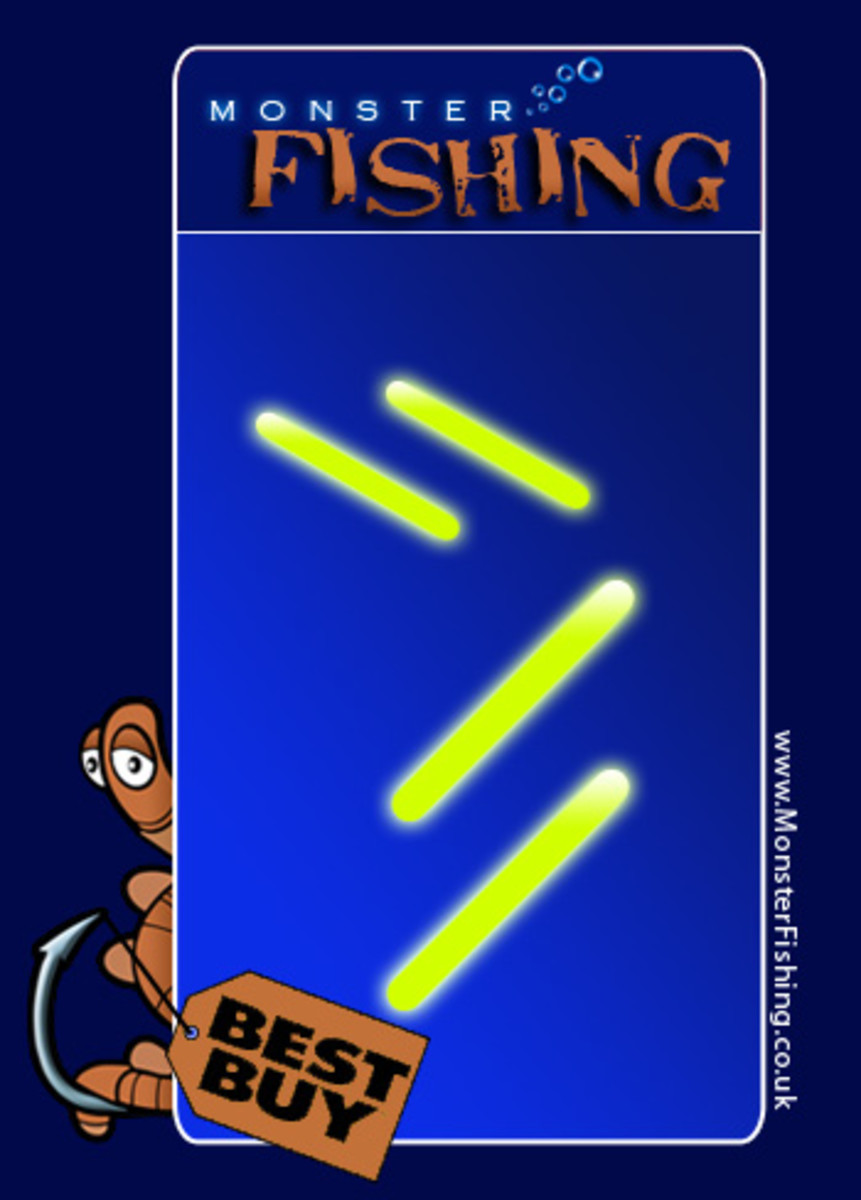 Illuminated disposable Rod or Float Tips