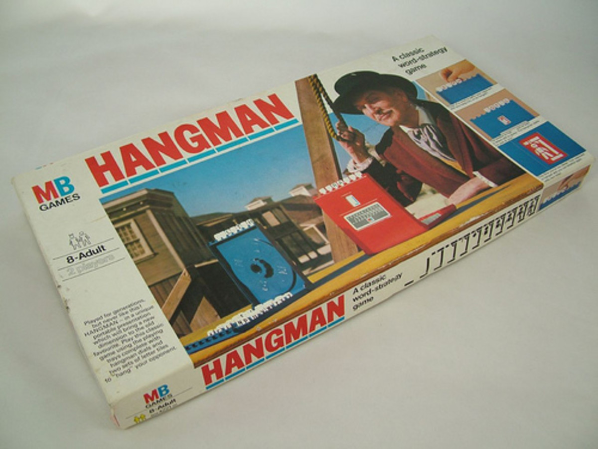 Sequential memory skills with Hangman.  Photo from Flickr.com.