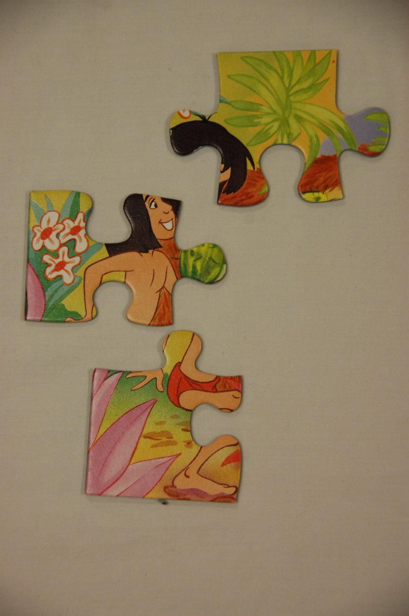 Practice visual discrimination, form constancy and spatial relations skills with puzzles.  Photo by Tech Vern, Vernatopia.com.