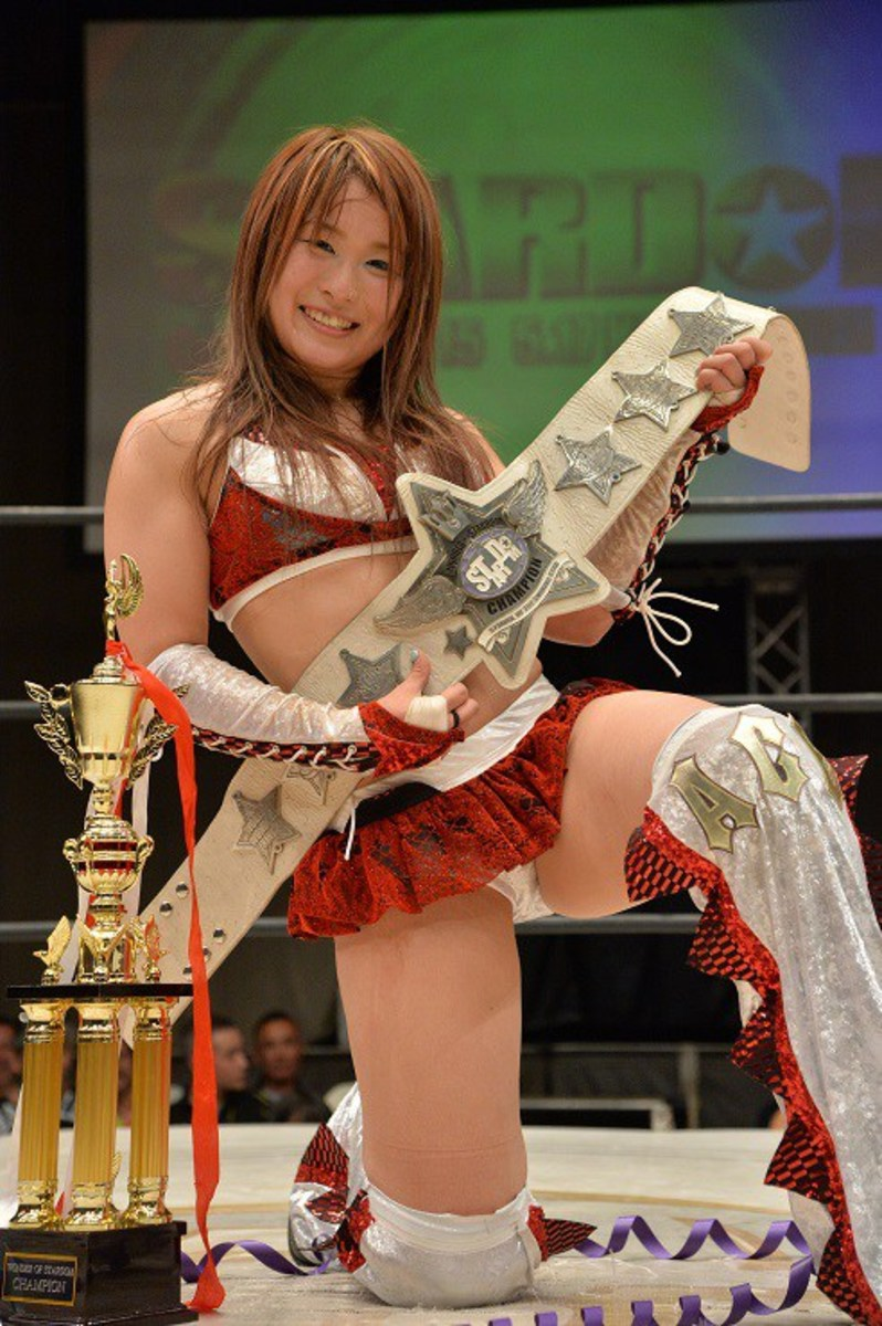Io Shirai, who might be a WWE Diva soon