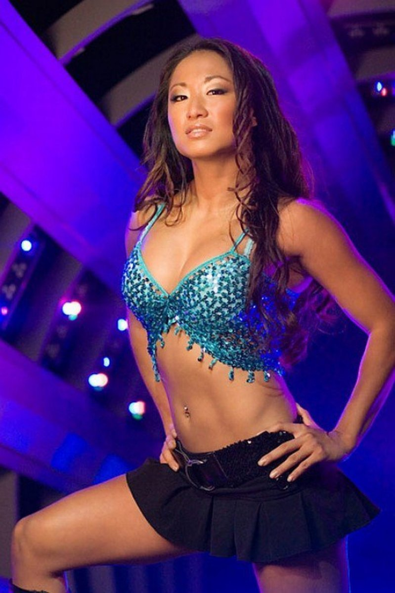 Former WWE Diva and TNA Knockout Gail Kim