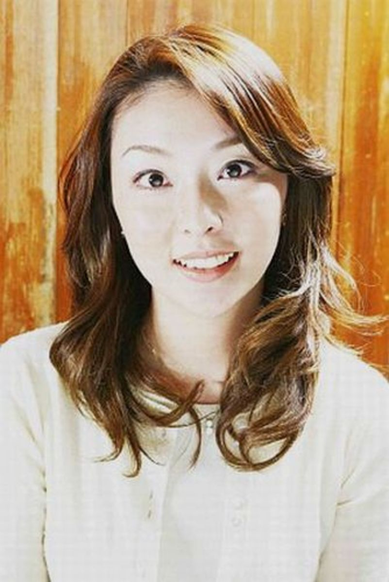 I had to do two Hiroko Suzuki pictures. One without make up...