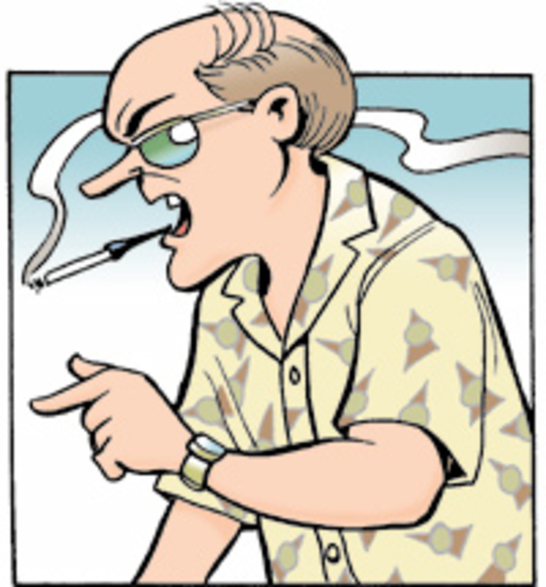 Uncle Duke from Doonesbury