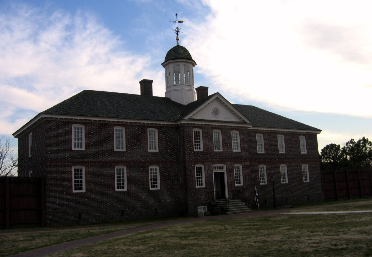 Public Hospital for Persons of Insane and Disordered Minds in Colonial Williamsburg, VA