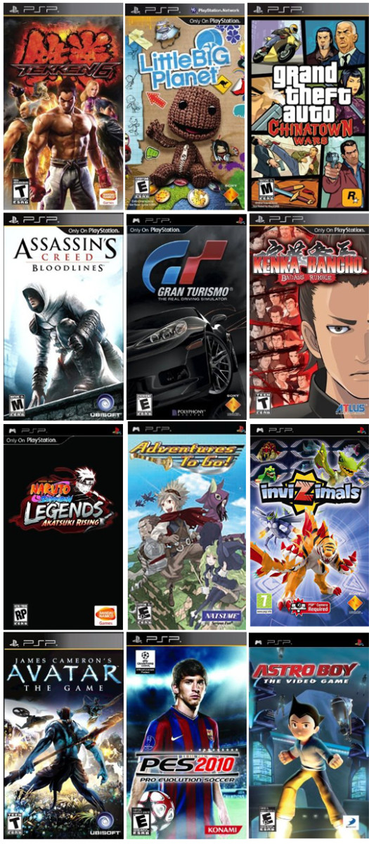 Best PSP 2009, Game List Of 4th Quarter