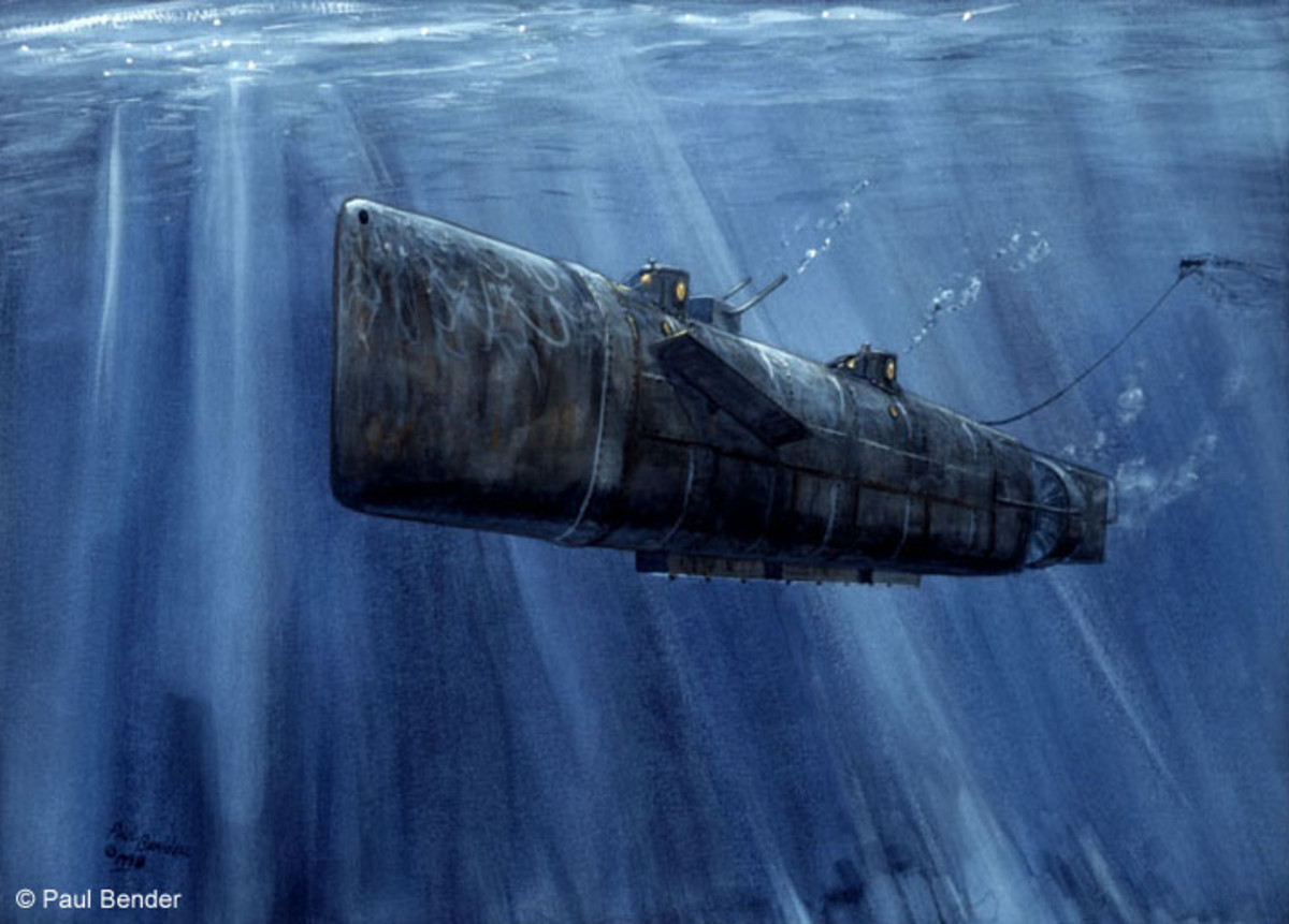 The Unlucky Confederate Submarine H.L. Hunley
