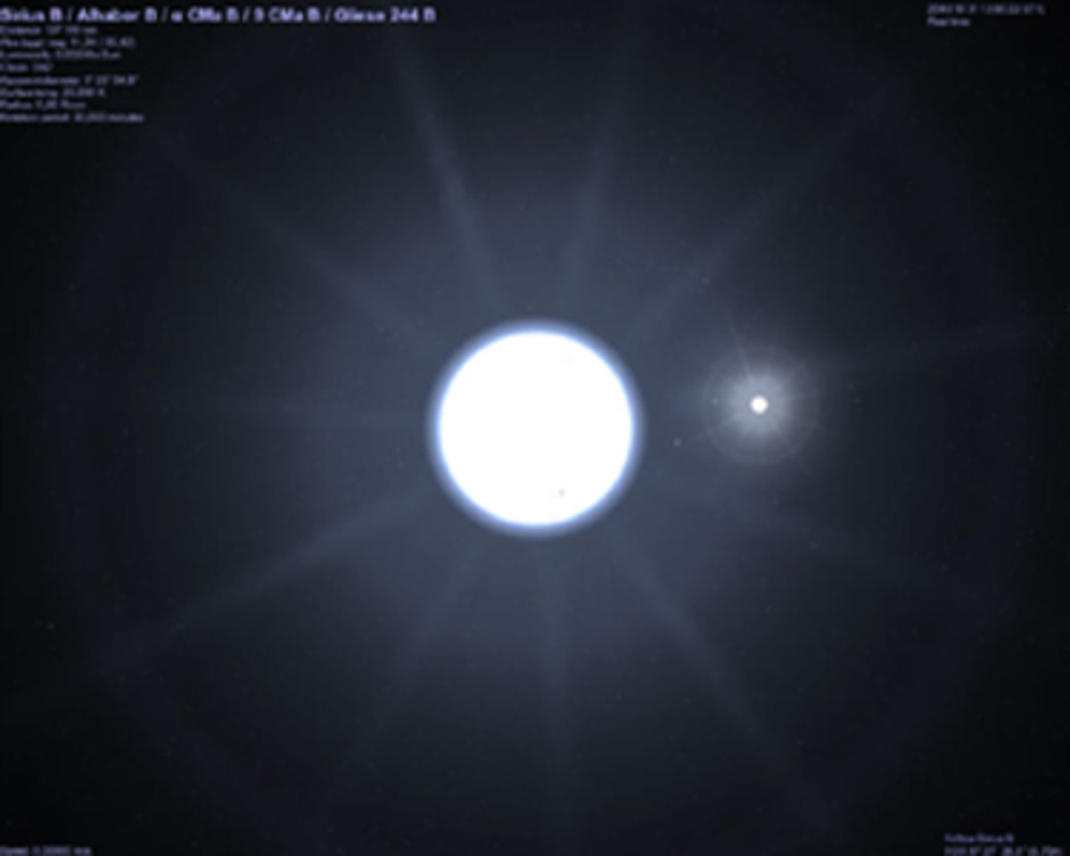 It wasn't until the 20th Century, that western astronomers finally proved the existence of Sirius B, which they found to be a White Dwarf, smaller and heavier than Sirius as the Dogon had Stated, and whose elliptical orbit caused the large Star to Wo