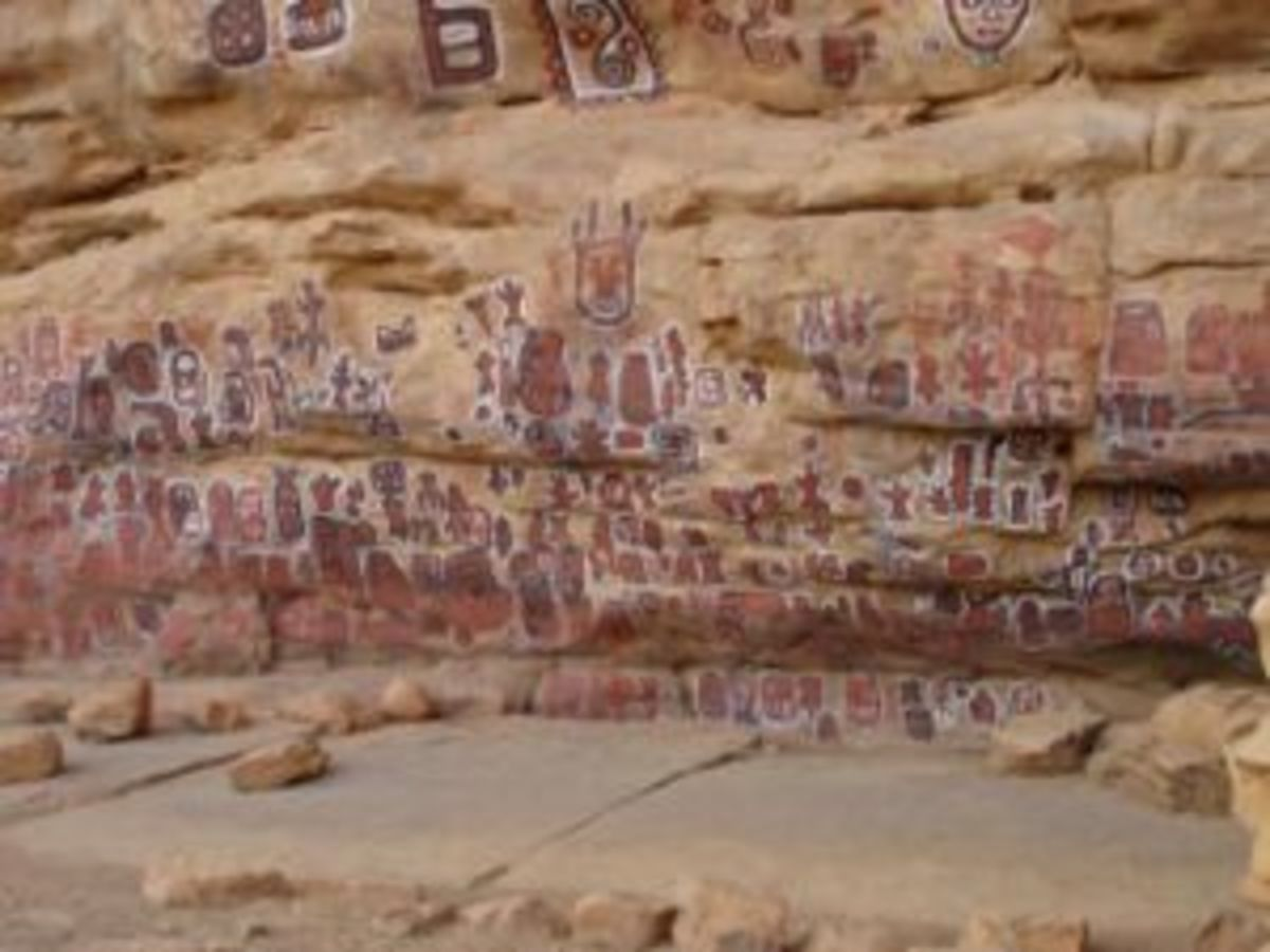 Dogon Circumcision Cave Painting