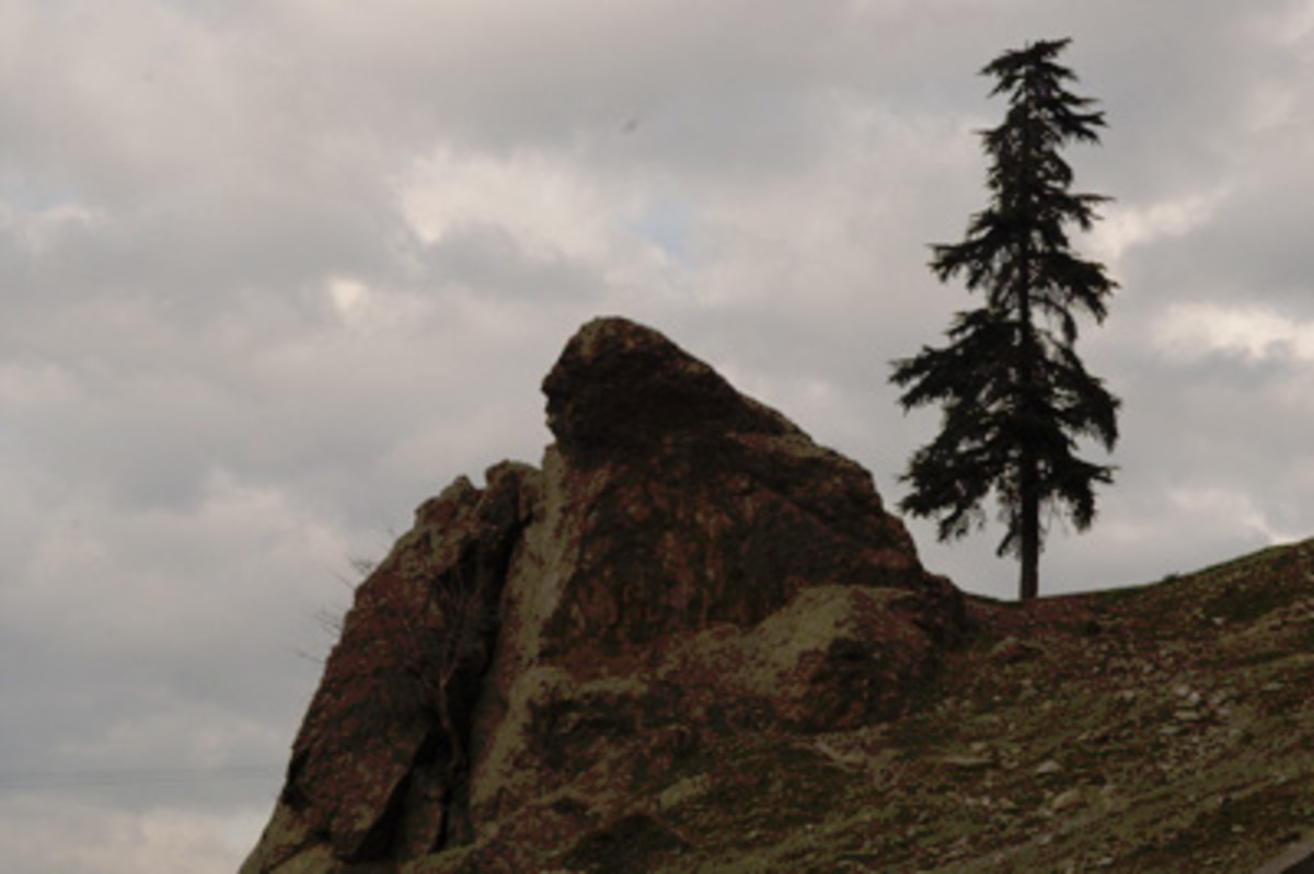 Ağlayan Kaya, the Weeping Rock of Niobe, in Manisa, Turkey