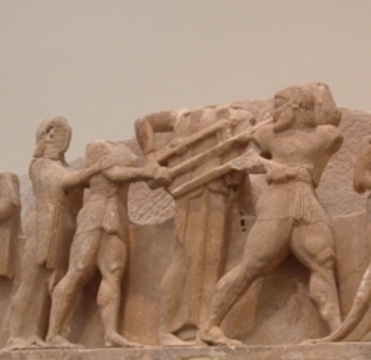 Siphnian Treasury, East Pediment. Delphi Museum. (own photo)