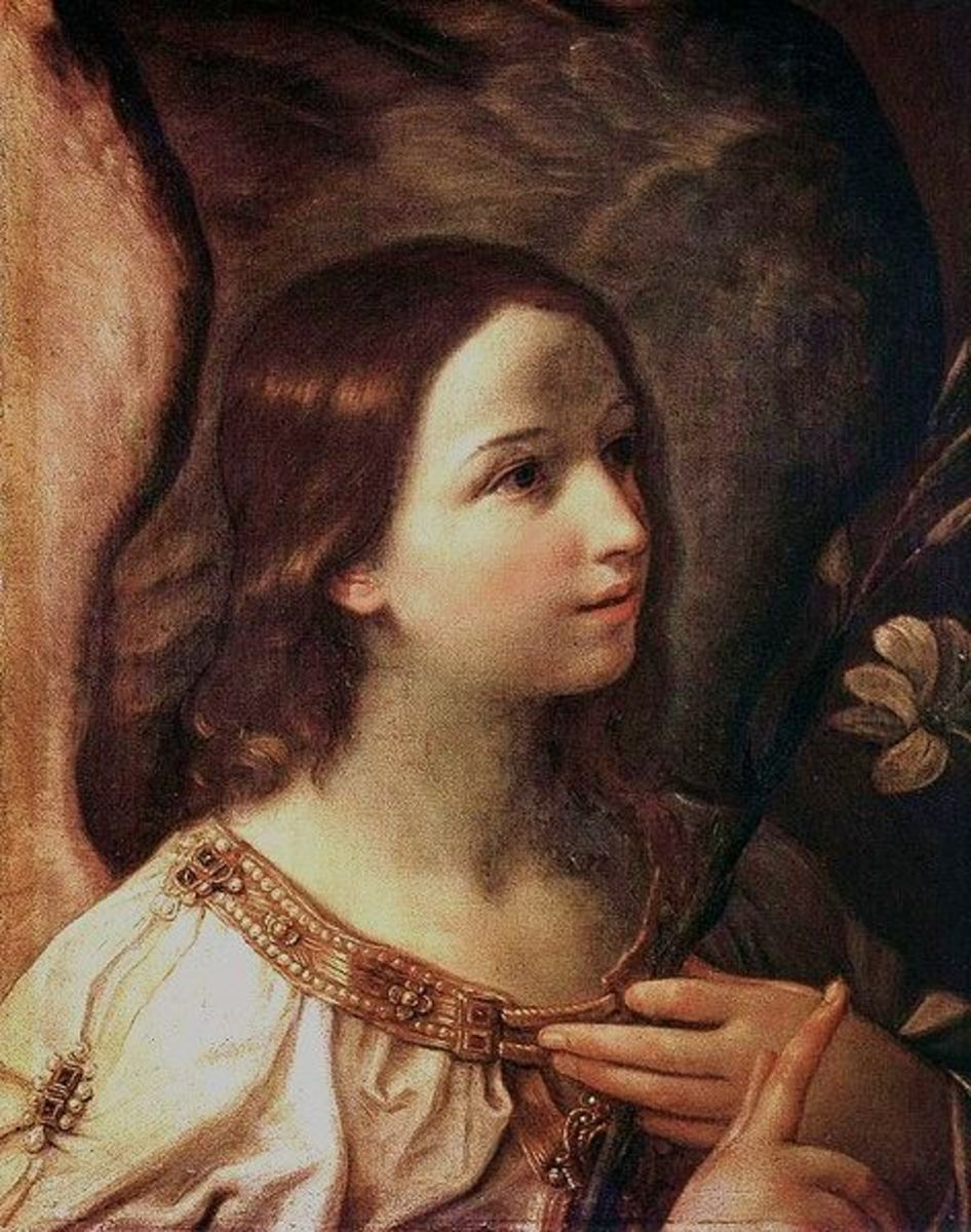 Pictures of Christmas Angels, Some Beautiful Paintings and Images of Angels In Art