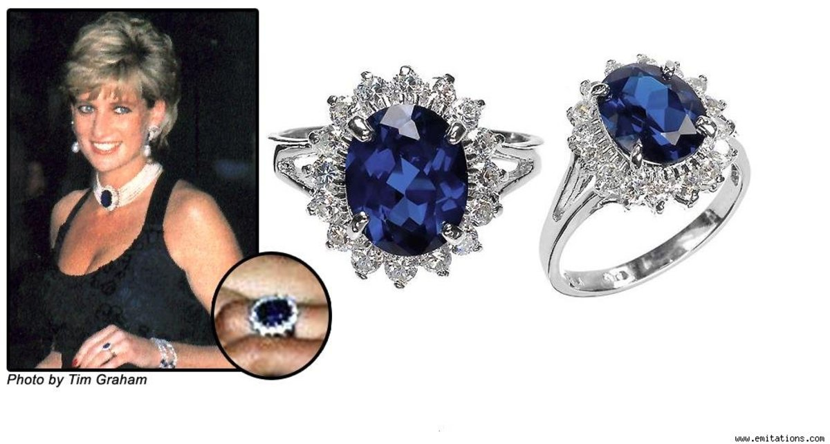 Princess Diana's famous sapphire ring