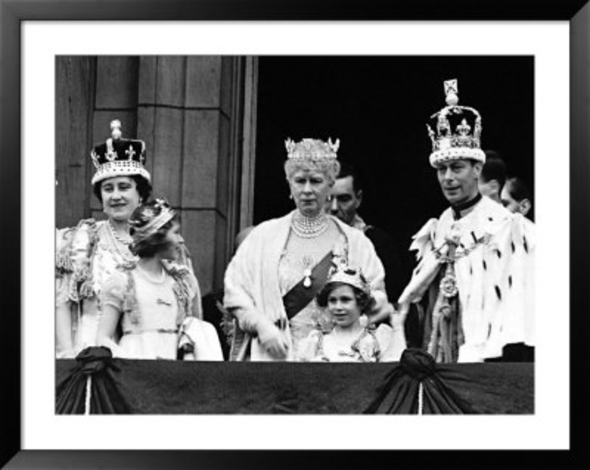 Queen Mother and family