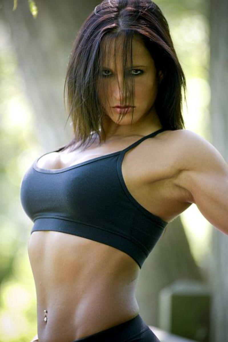 Karen Kryzanowski - female fitness model