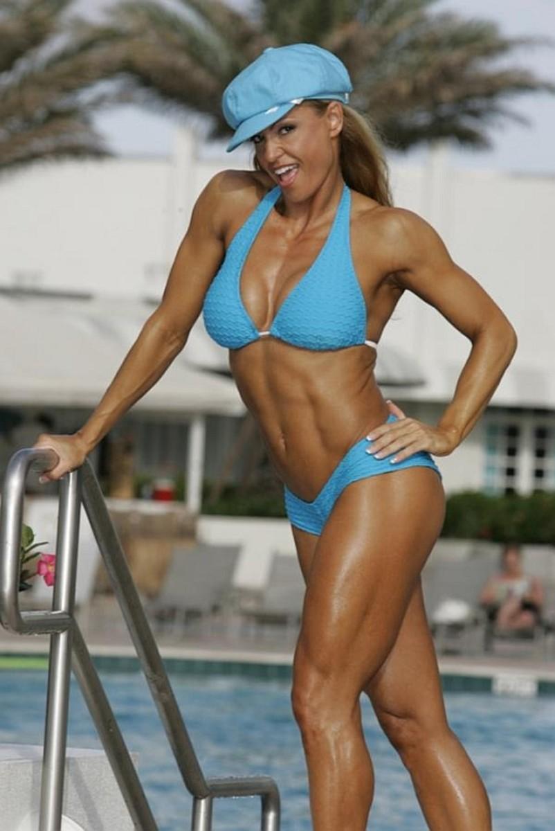 Sylvia Tremblay - female fitness competitor