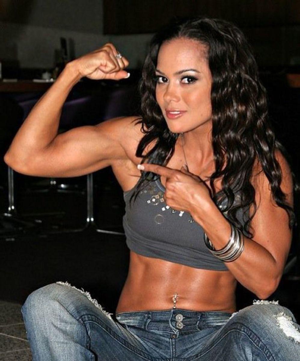 Fitness model Vanessa Tib