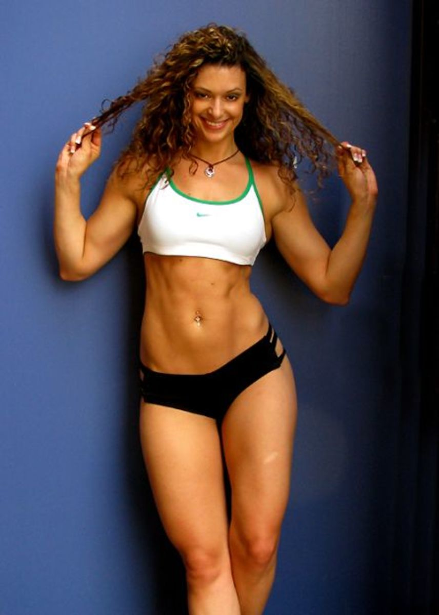 Sarah Varno / Sarah Mankiewicz - certified personal trainer and fitness model