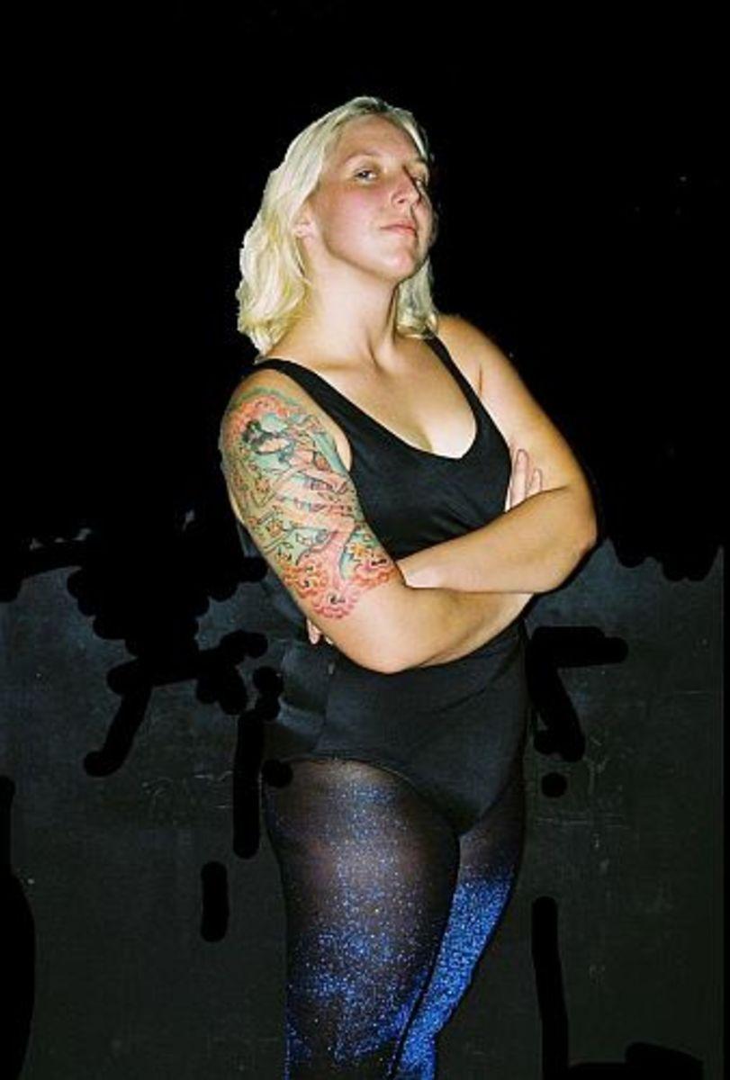 """""""Hardcore"""" Heather Owens - Female Wrestling"""
