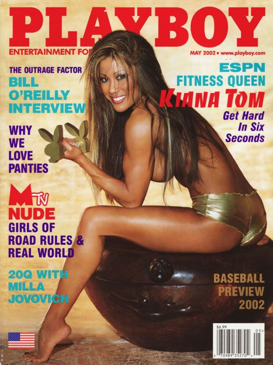 photo courtesy of whosdatedwho.com May 2002 Cover Play Boy Magazine