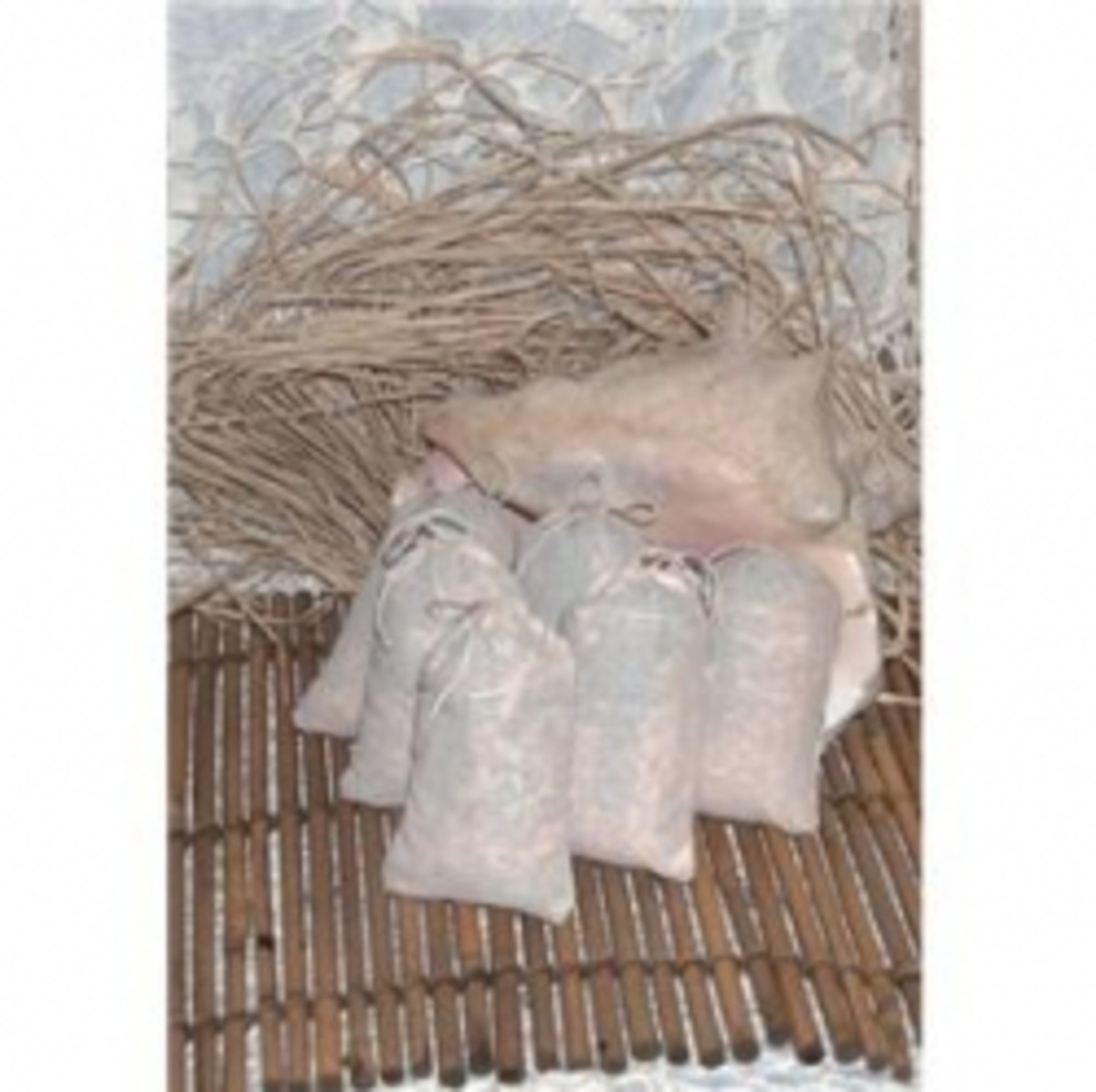 All natural cedar-lavender sachets make great party favors for the guests