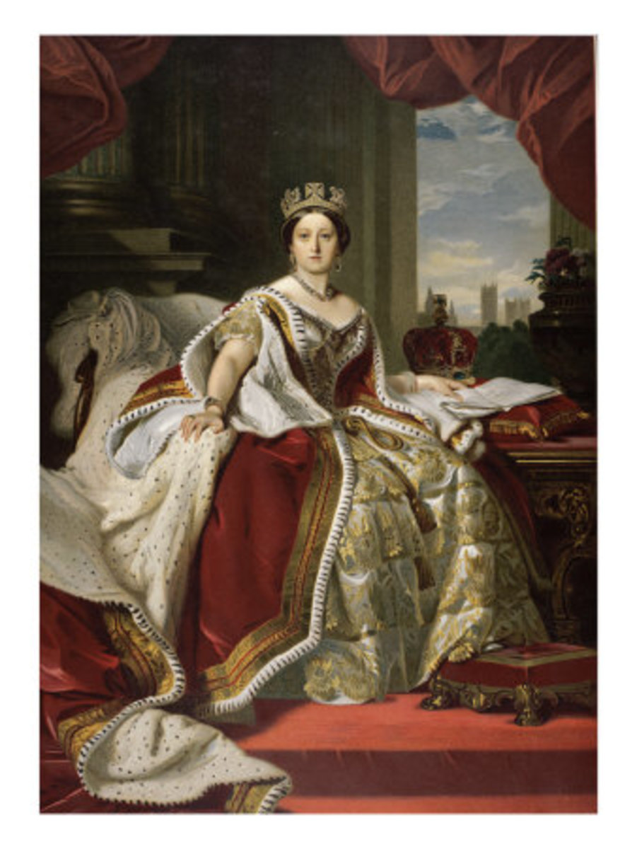 Painting of Queen Victoria by Franz Xavier Winterhalter