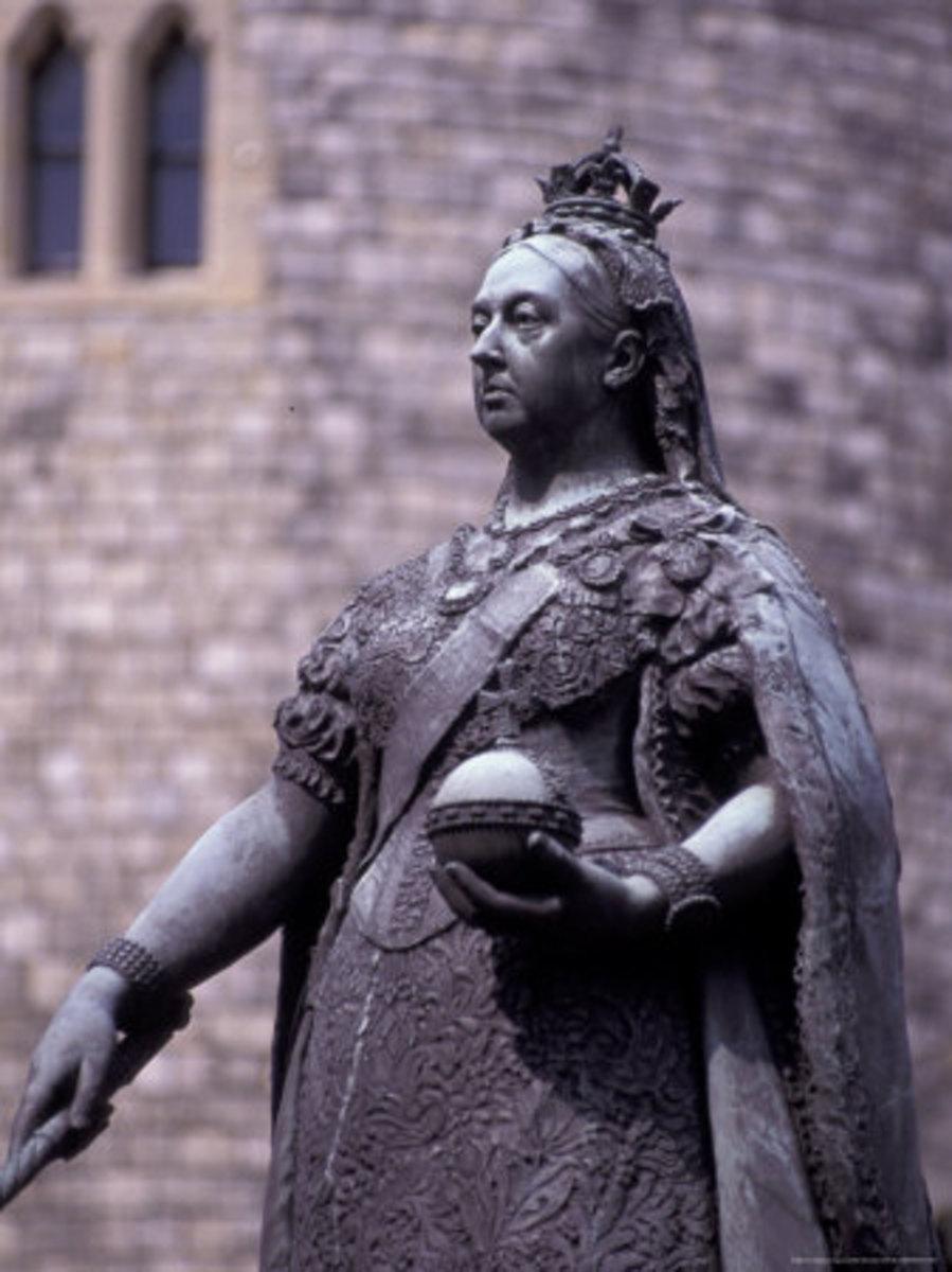 Queen Victoria statue Windsor, England
