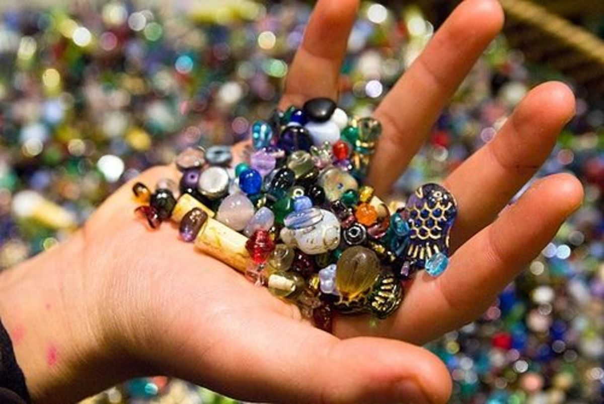 Sensory Table beads