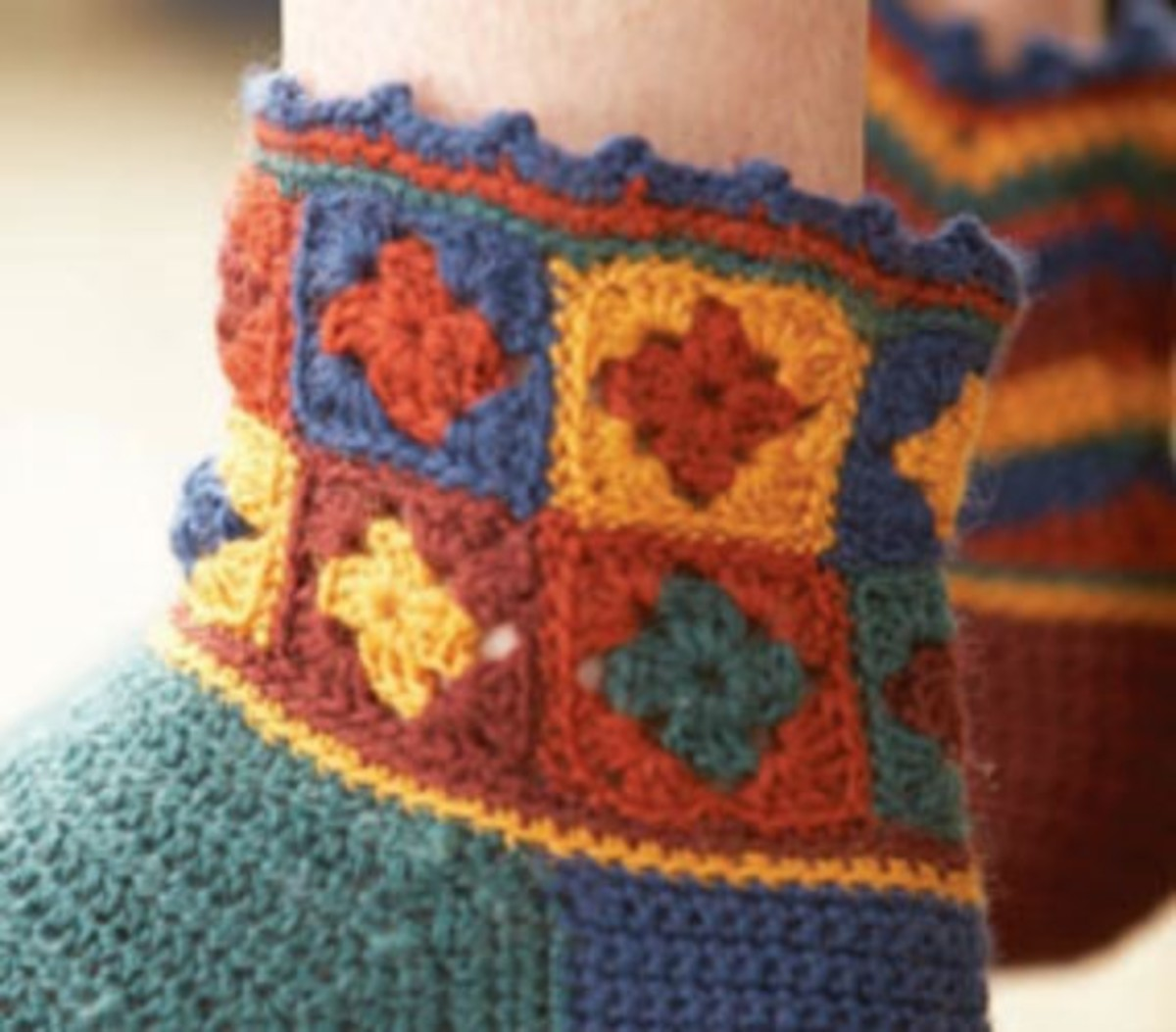 Granny Square Cuffs