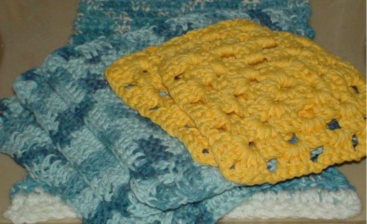 granny square wash cloth