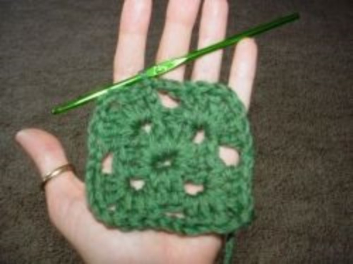 Round 2 Granny Square for the beginner
