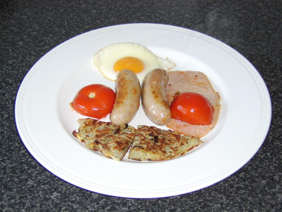 Healthier Full English Breakfast