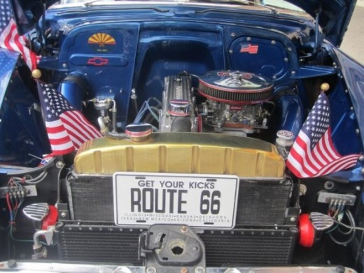 Route 66 in Flagstaff, Arizona