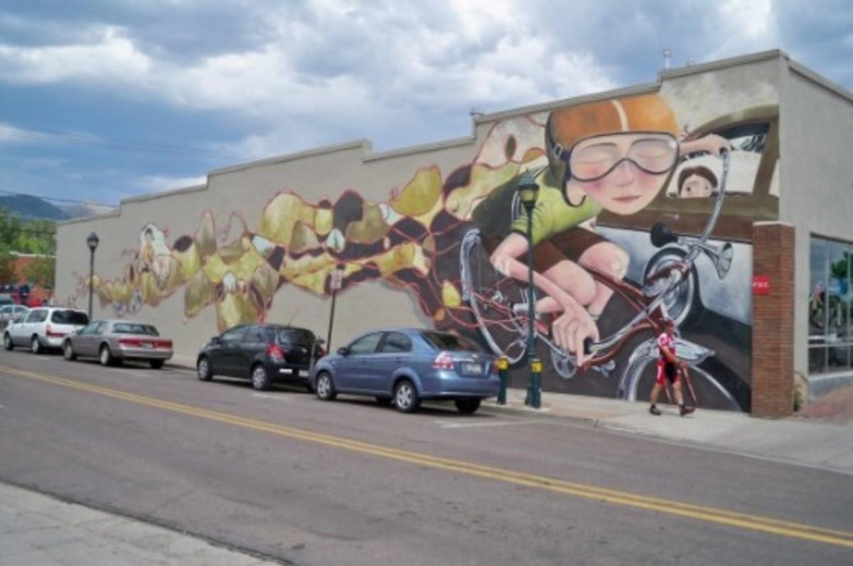 Public Art Along Route 66 in Flagstaff