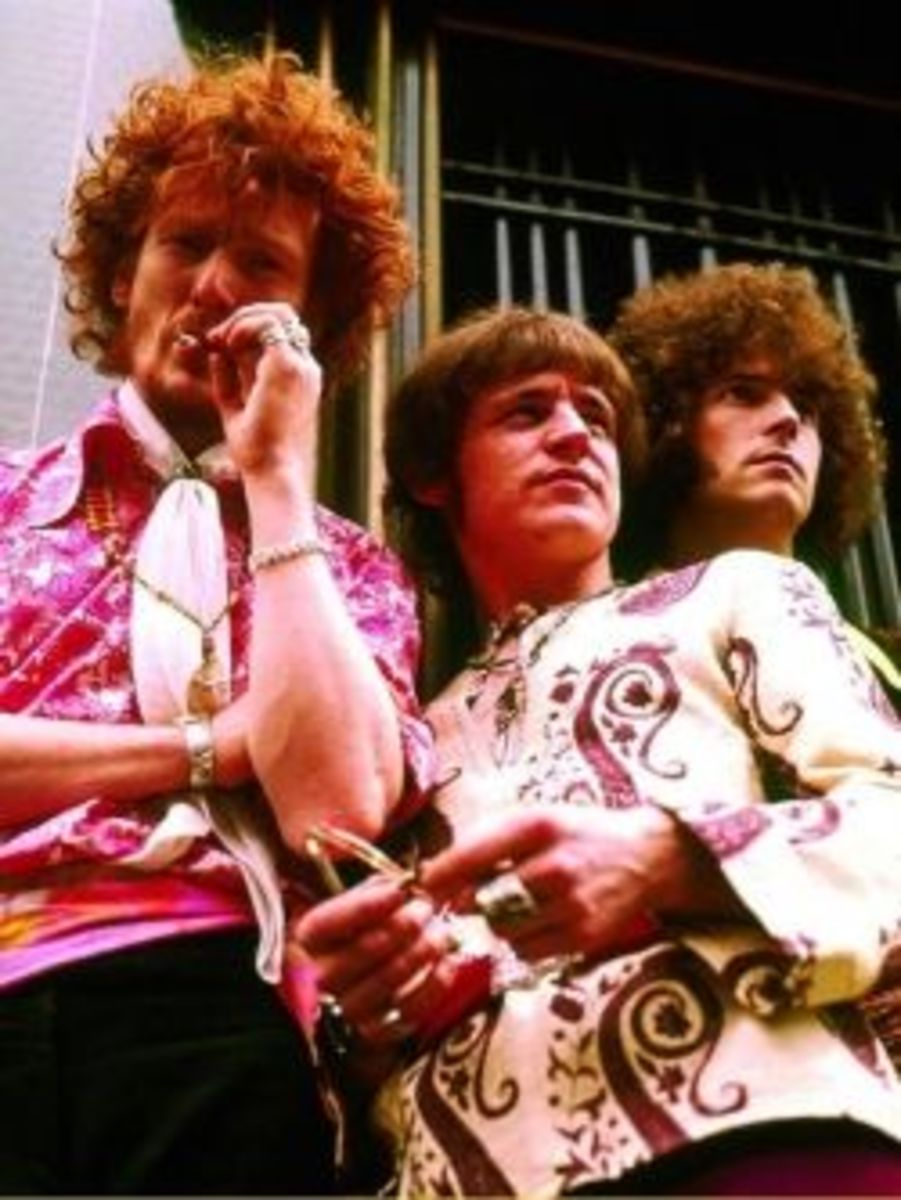 Cream: Ginger Baker, Jack Bruce, and Eric Clapton