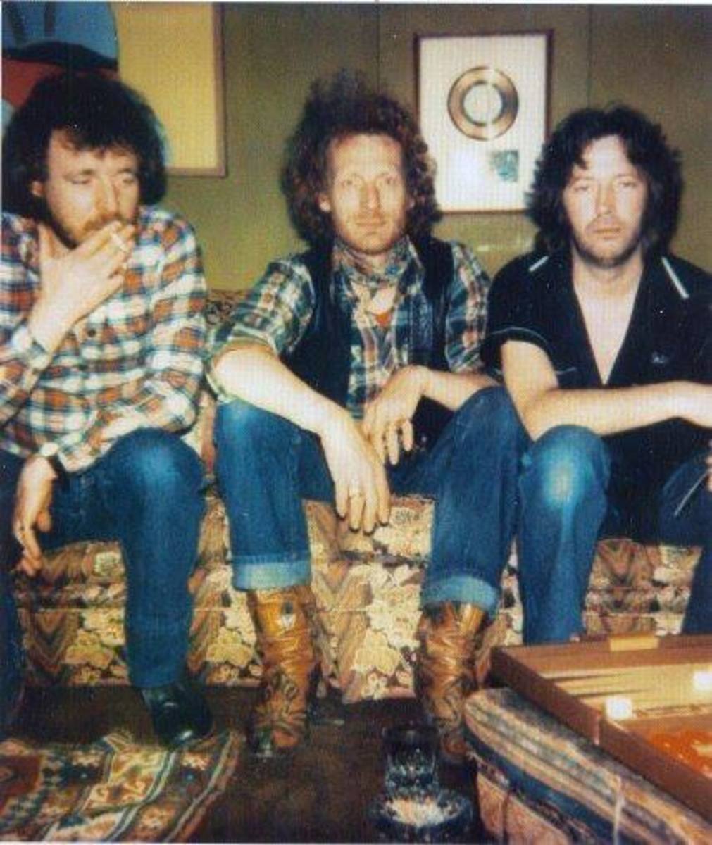 Bruce, Baker, and Clapton in 1976