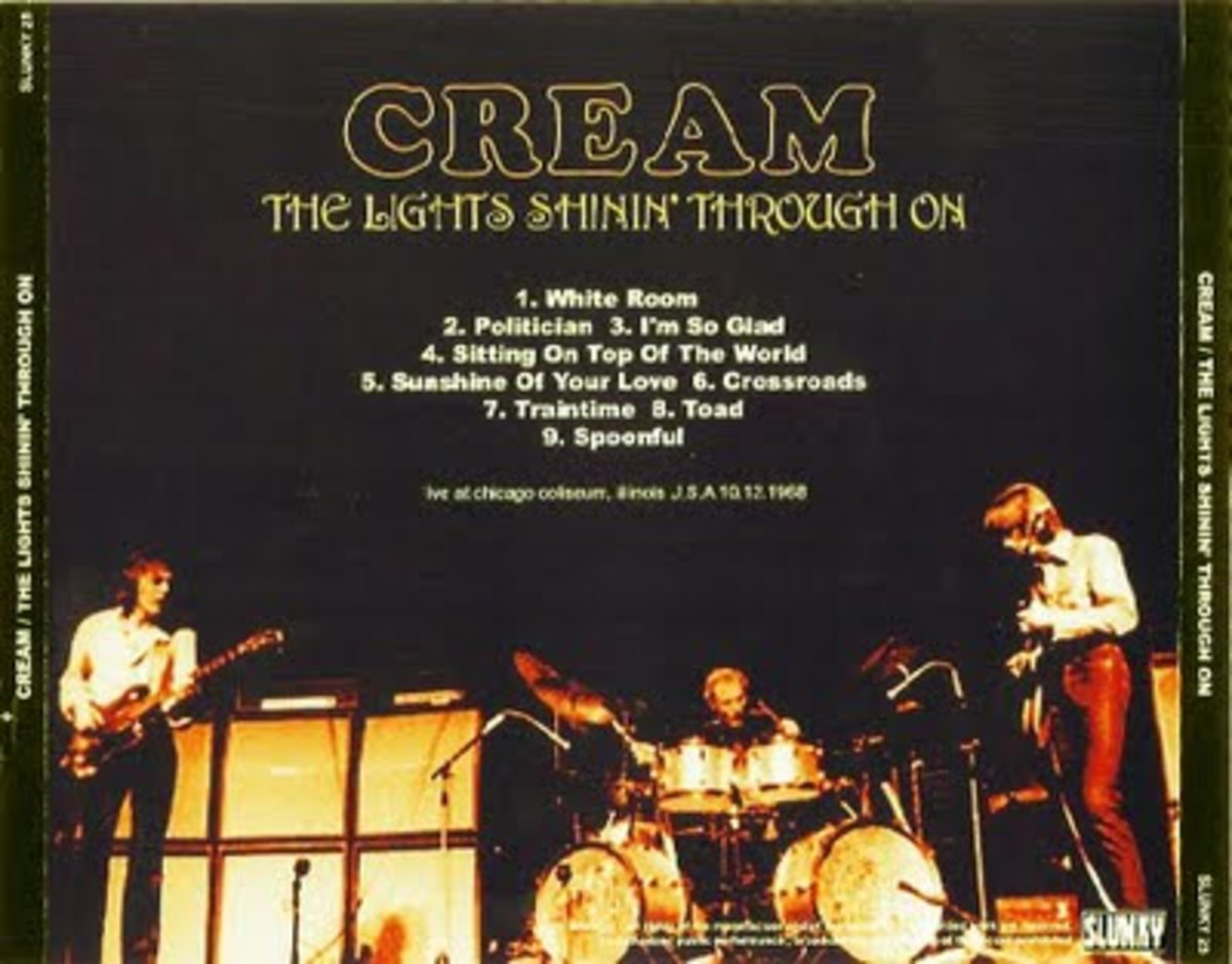 Cream Chicago Coliseum 10/68