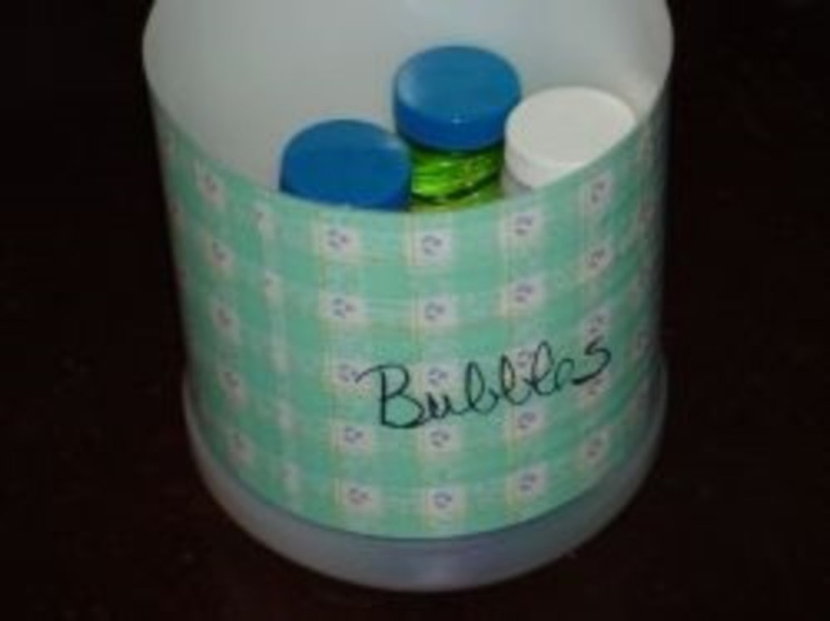 Milk Jug Storage Container