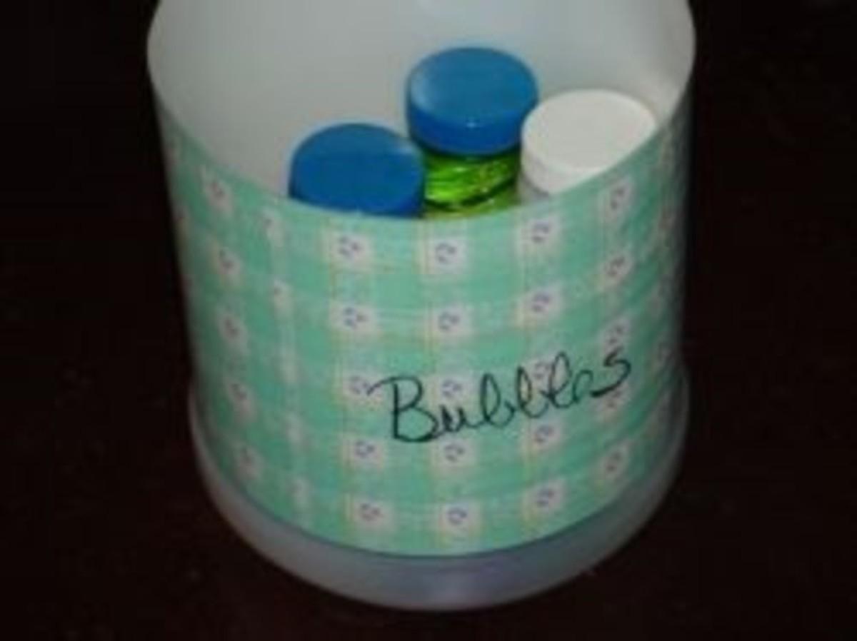 Milk Jug Storage Container