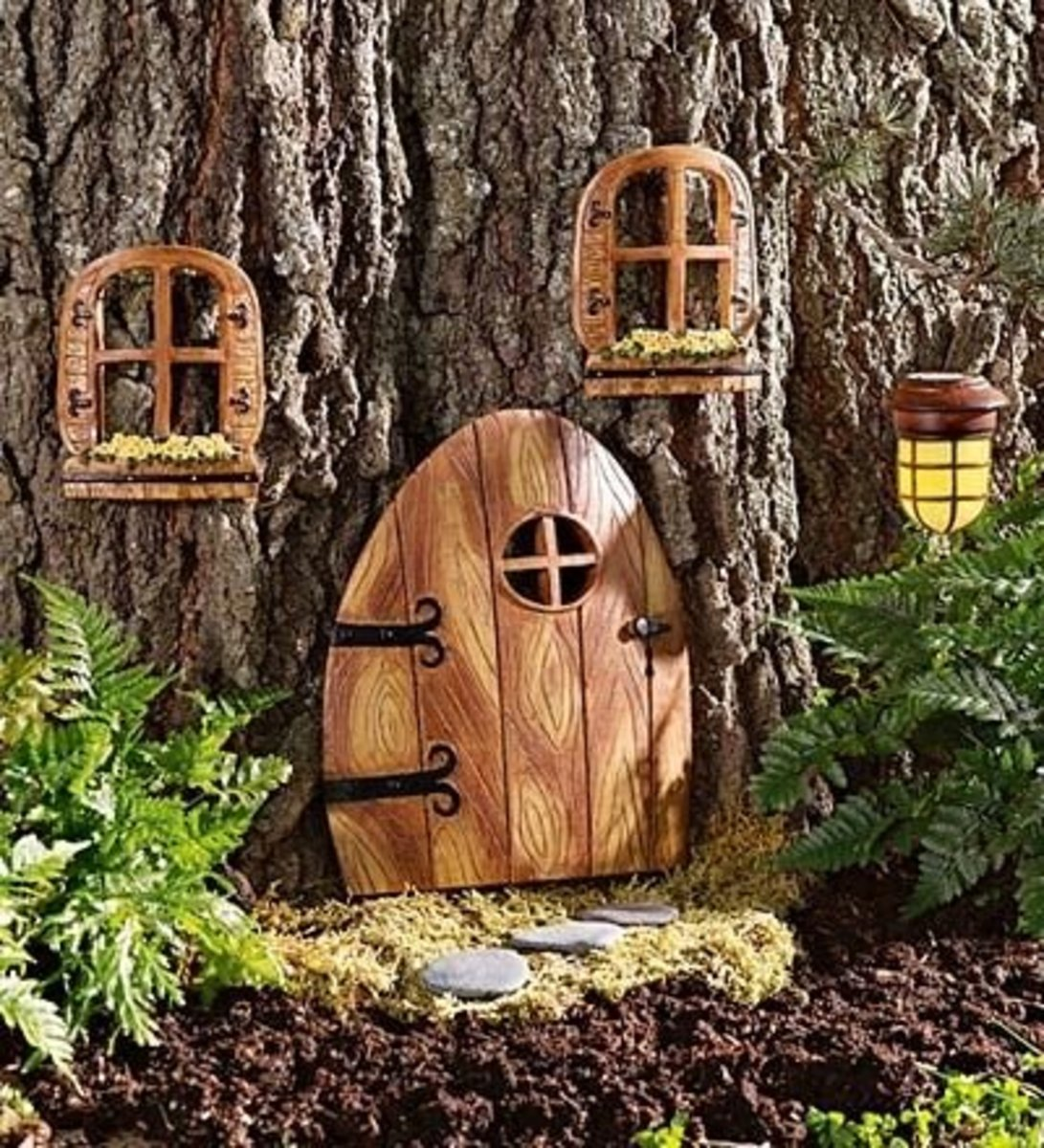 Elfin Doorway for your Fairy Garden