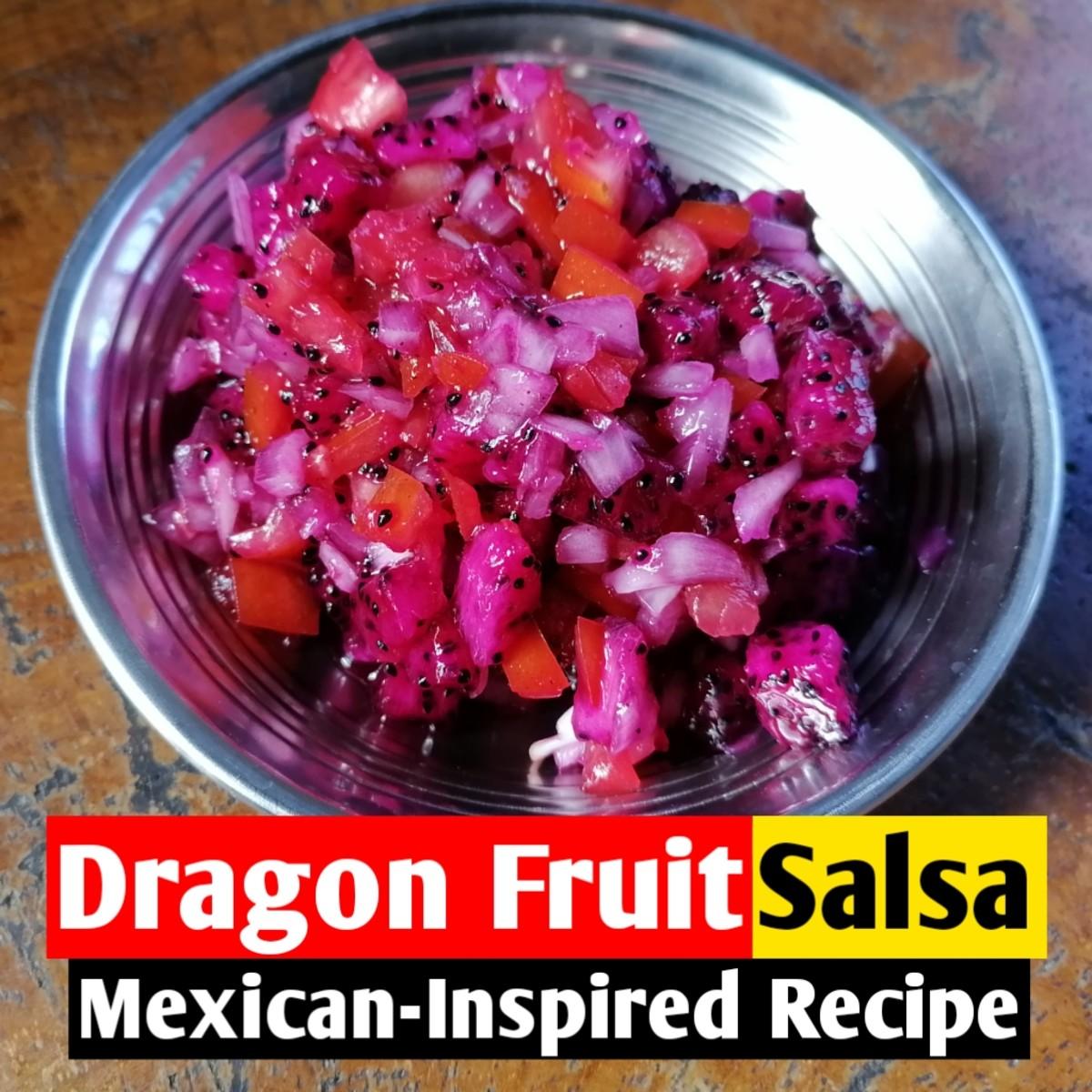 Dragon fruit salsa