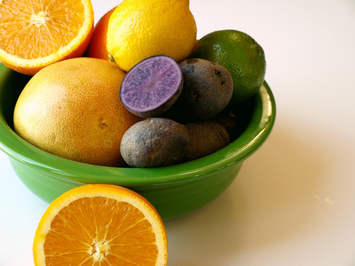 Up your vitamin C intake to help with your gout.