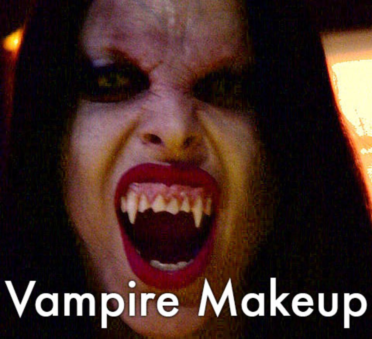 Vampire makeup ideas and tutorials for men and women.