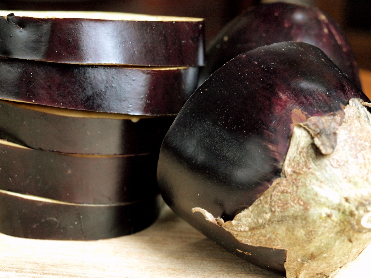 Eggplant unfortunately is not low-FODMAP diet friendly.