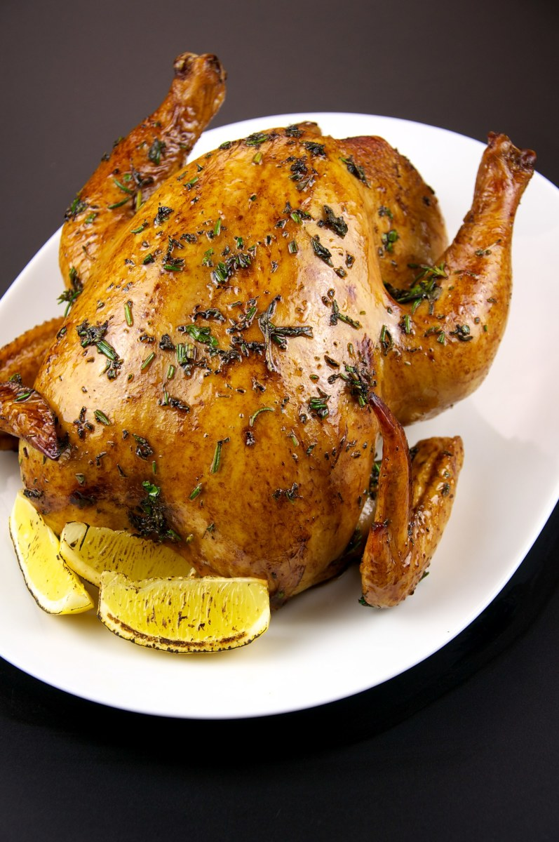 Chicken in any form—roasted, baked, poached, or grilled—is a highly nutritious way to get fuel without carbohydrates.