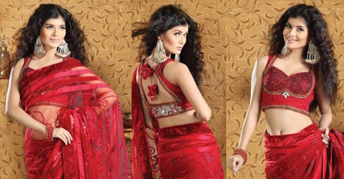party-saree-blouse-designs