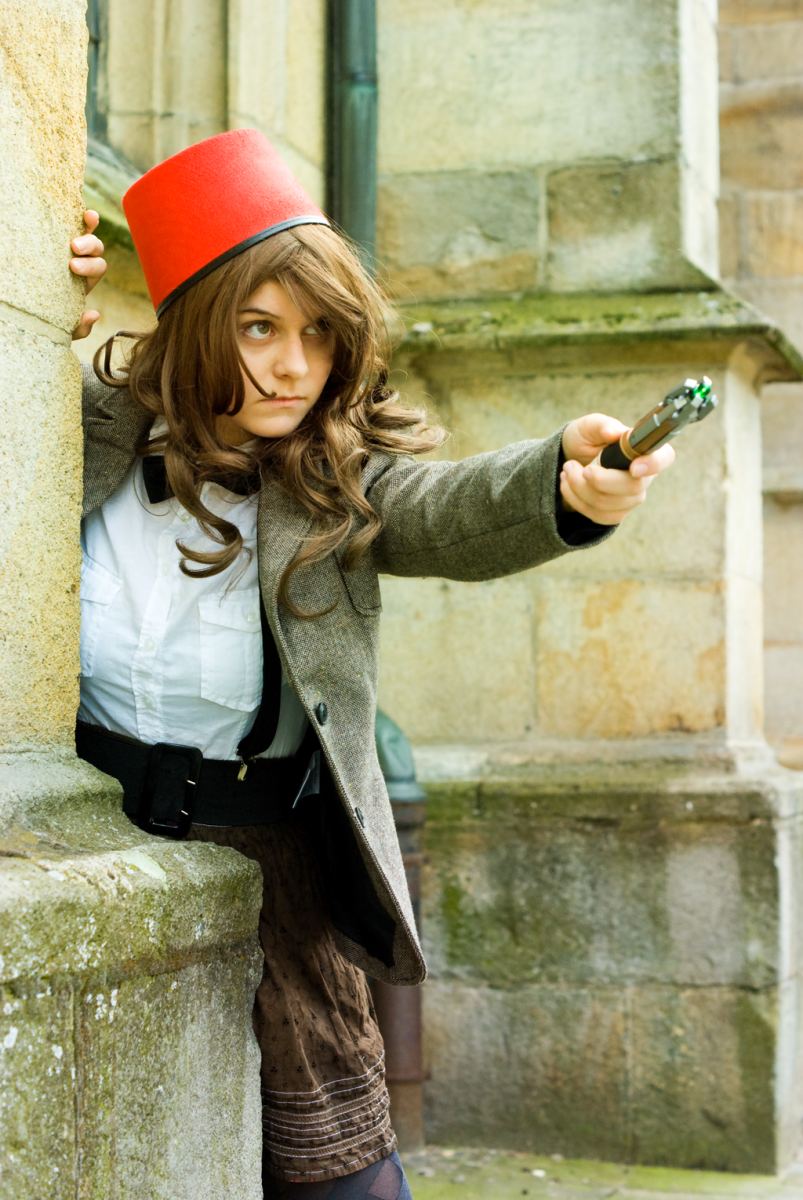 Female version of the Eleventh Doctor!