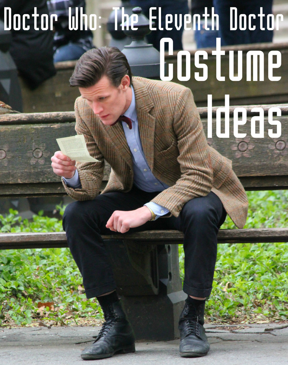 Doctor Who Costume: The Eleventh Dr. Jacket and Accessories